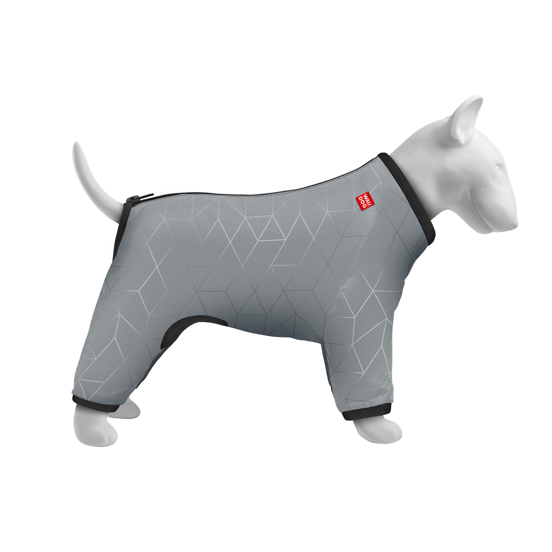 Дощовик для собак WAUDOG Clothes, світловідбиваючий